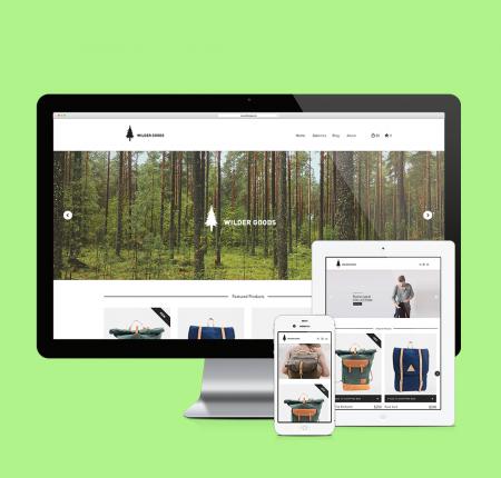 Wilder Goods Website Redesign