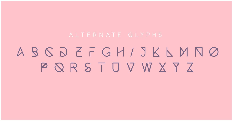 ALTERNATE GLYPHS